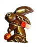 Hand Painted Chocolate Bunny (120g)